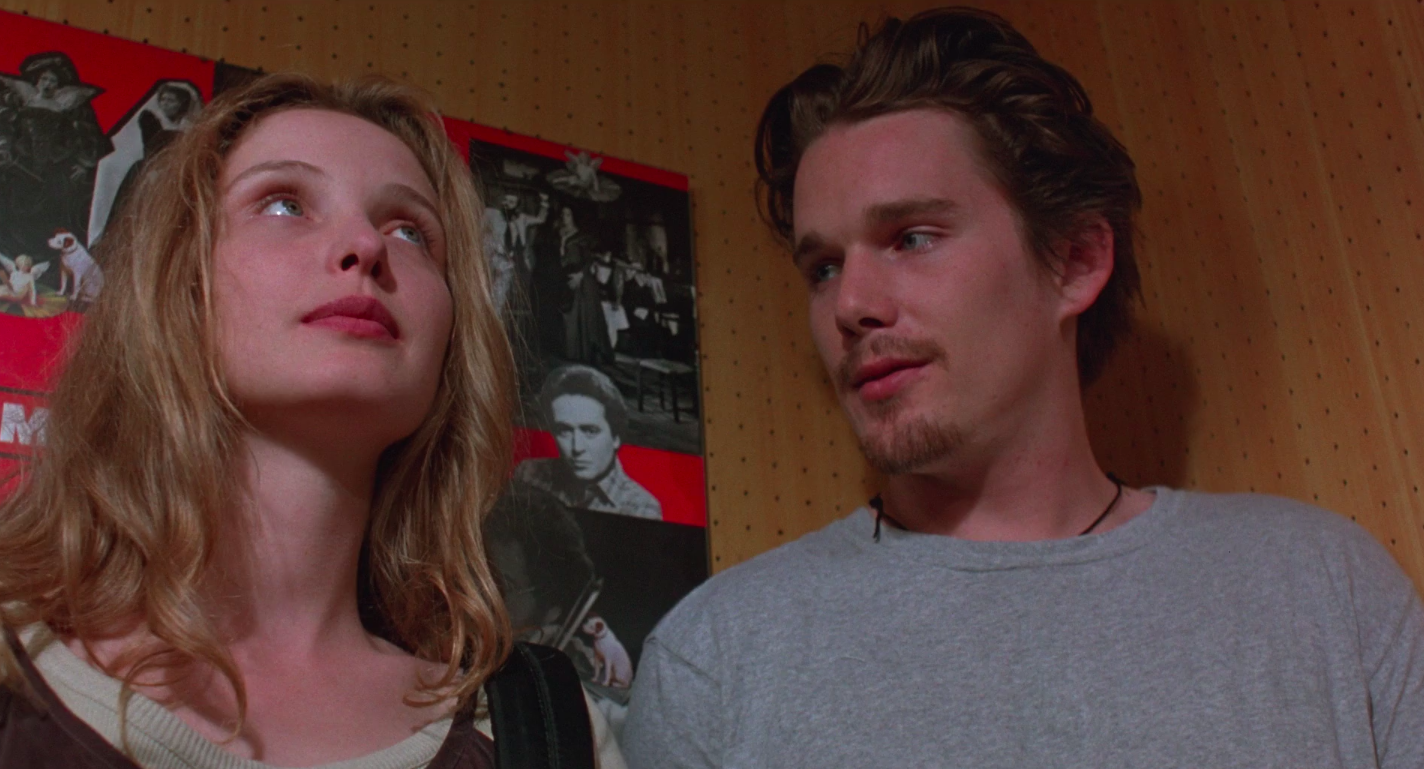 """Julie Delpy and Ethan Hawke in """"Before Sunrise"""""""