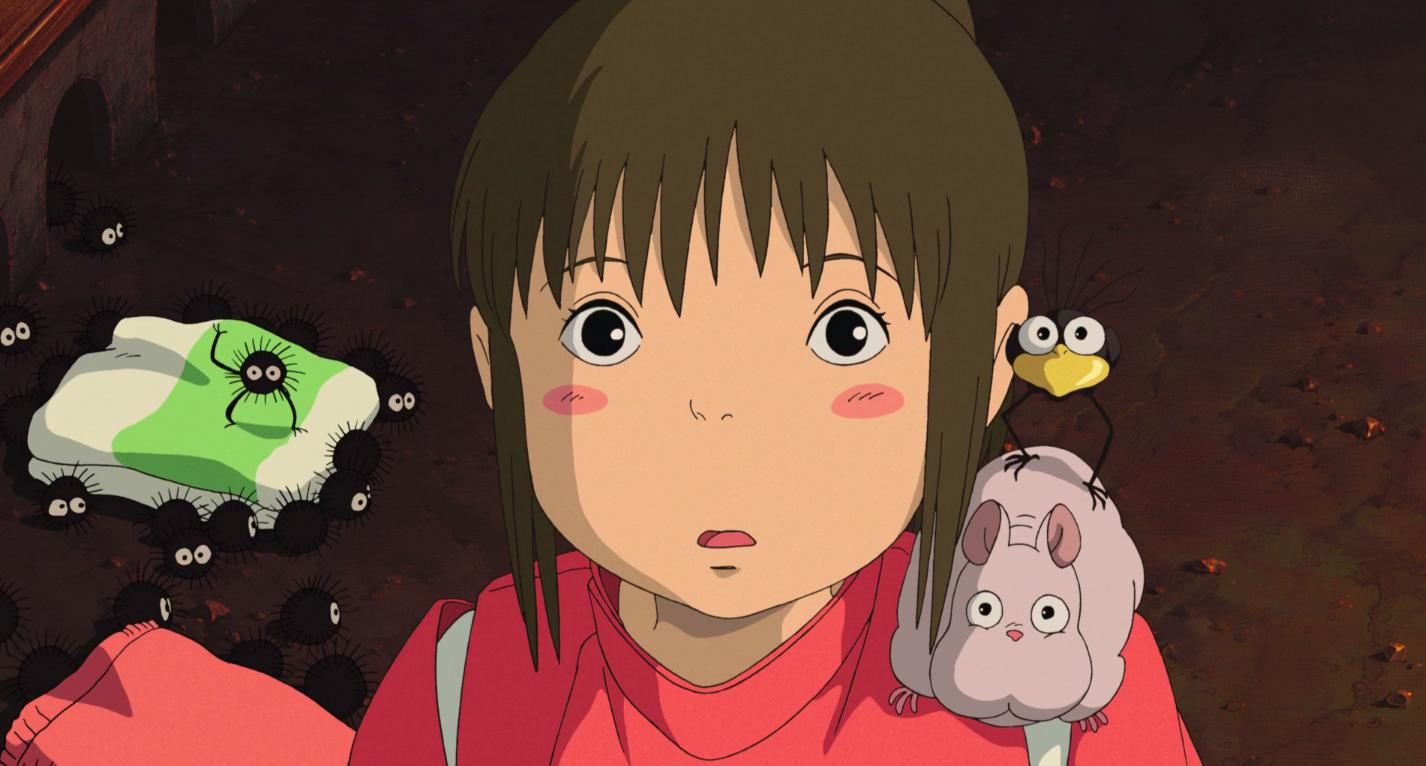 """Chihiro Ogino in """"Spirited Away"""""""