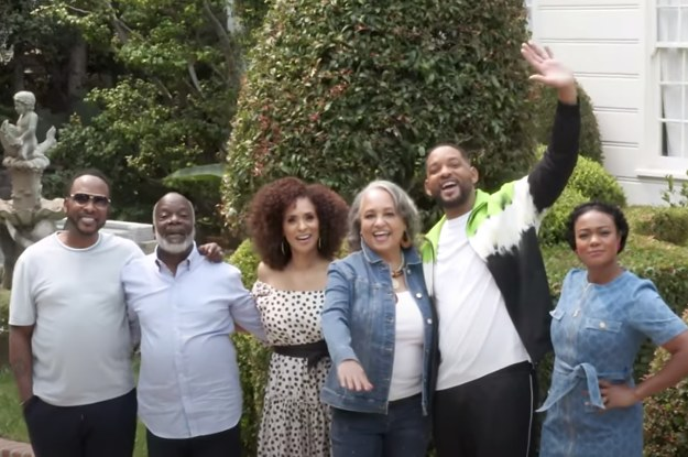 "Will Smith Reunited ""The Fresh Prince"" Cast To Take A Tour Of The Iconic Bel-Air Mansion"