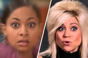 That's So Raven and the Long Island Medium being psychic