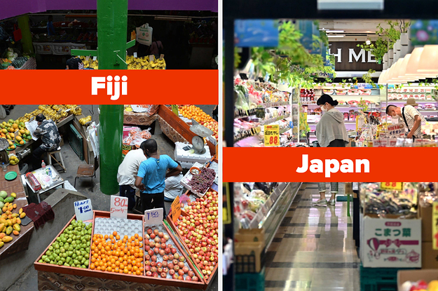 Here's What Grocery Stores Look Like In 30 Countries