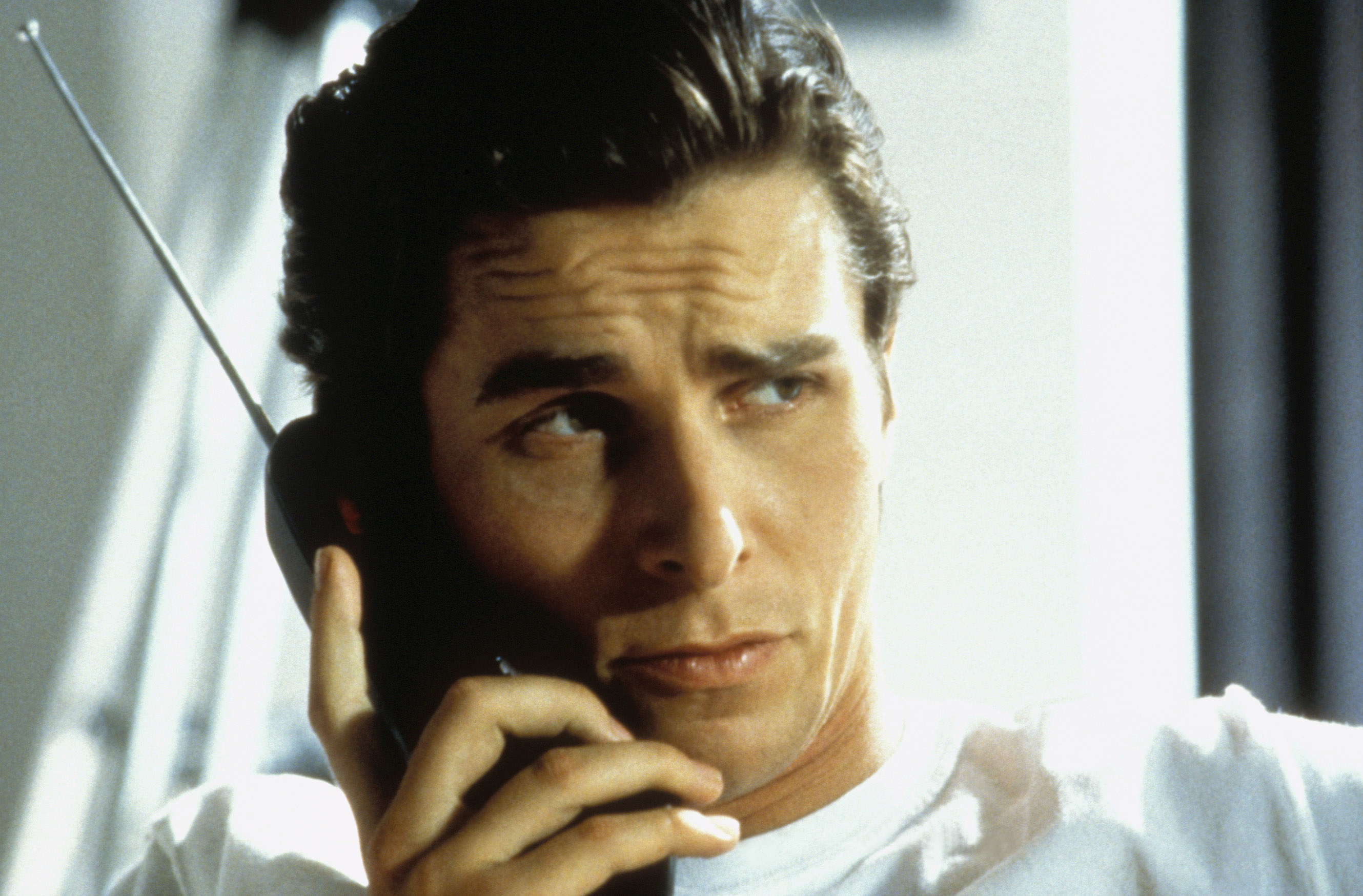 christian bale on the phone