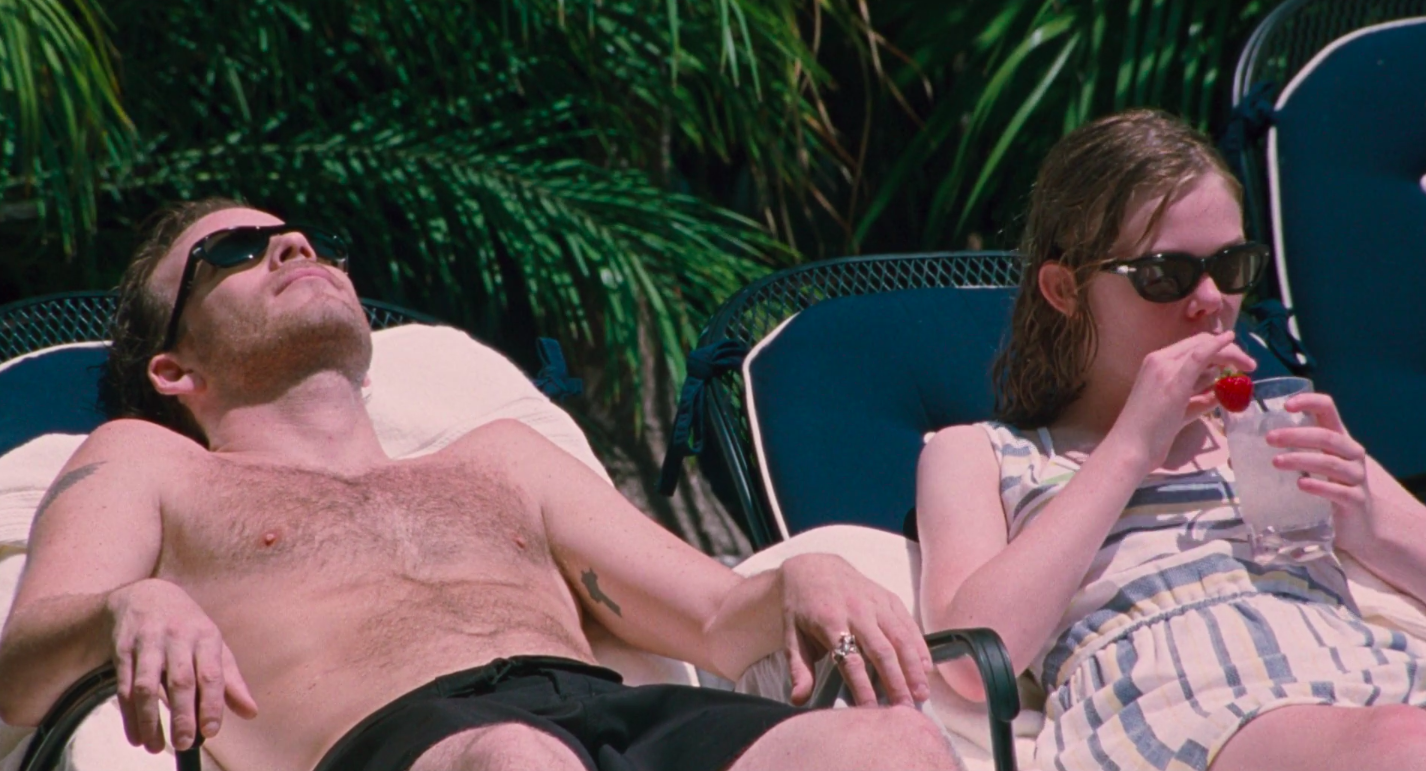 """Stephen Dorff and Elle Fanning in """"Somewhere"""""""
