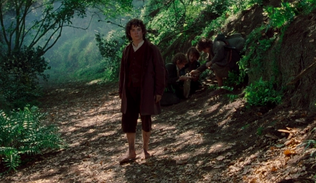 """Elijah Wood in """"The Lord of the Rings: Fellowship of the Ring"""""""