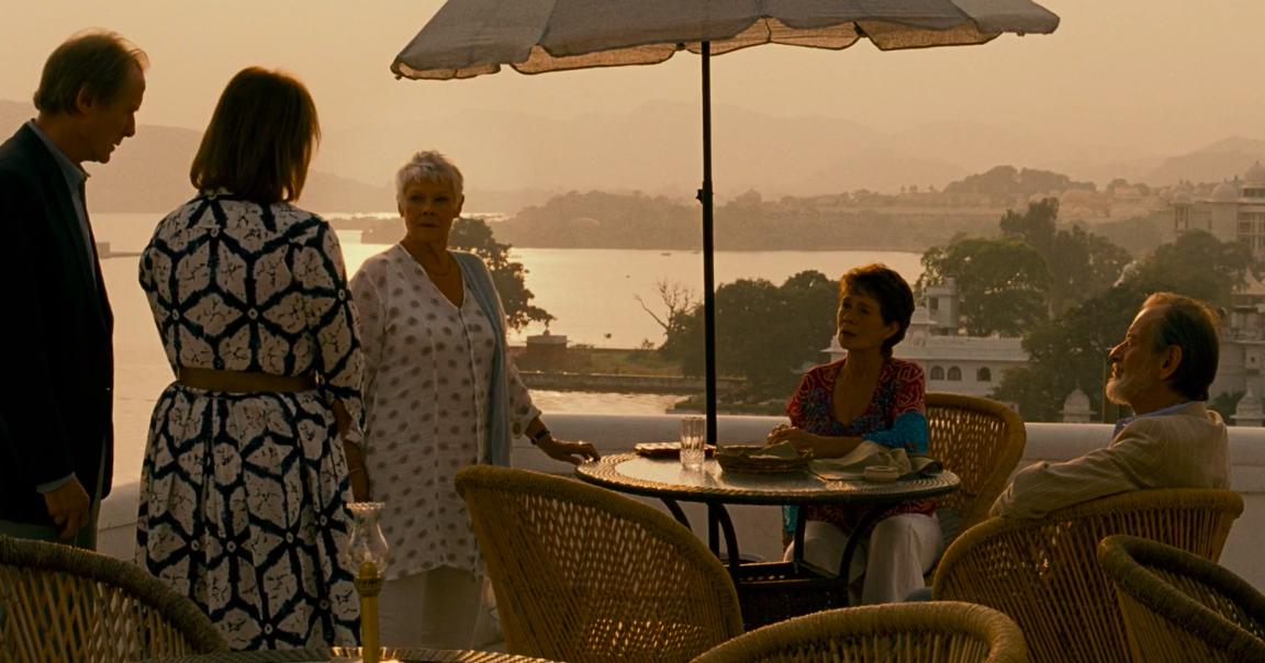 "Judi Dench in ""The Best Exotic Marigold Hotel"""
