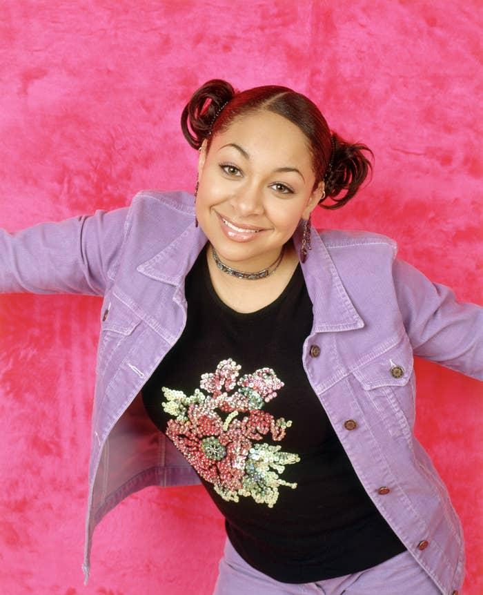 Actor Raven-Symoné as Raven Baxter