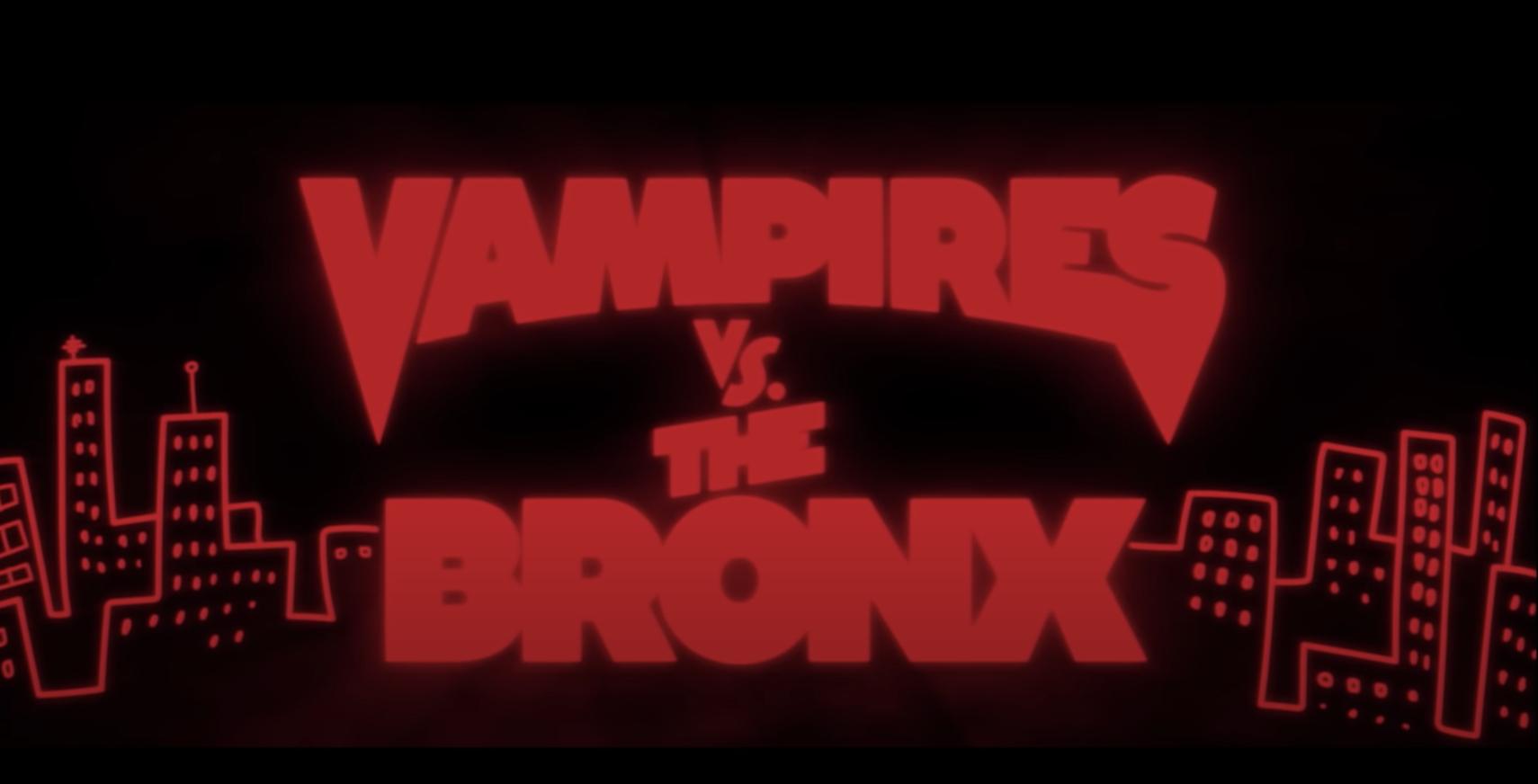 Vampires Vs. The Bronx title screen