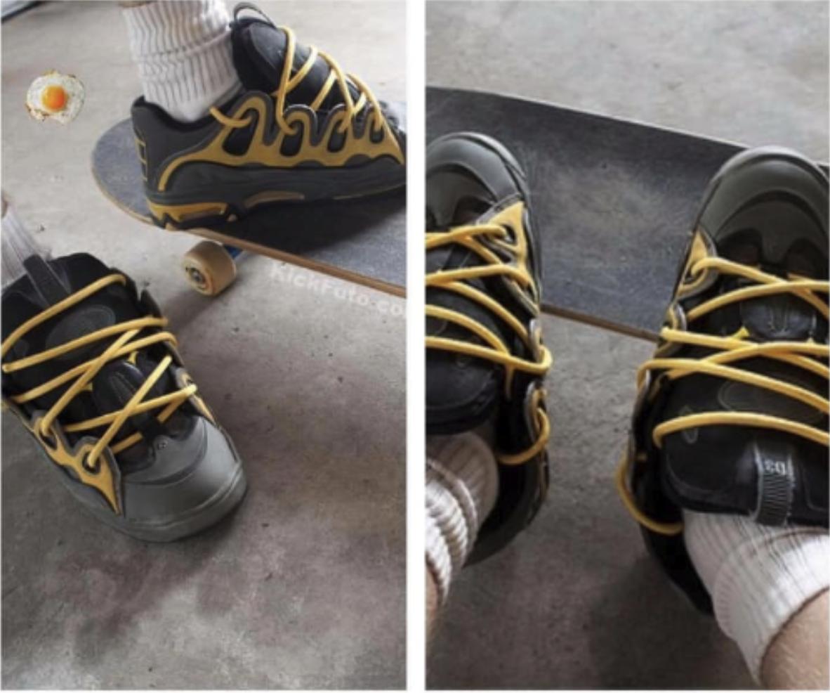 gigantic skate shoes
