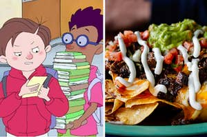 horrid henry characters and nachos
