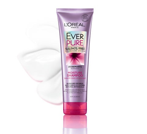 The tube of hair product