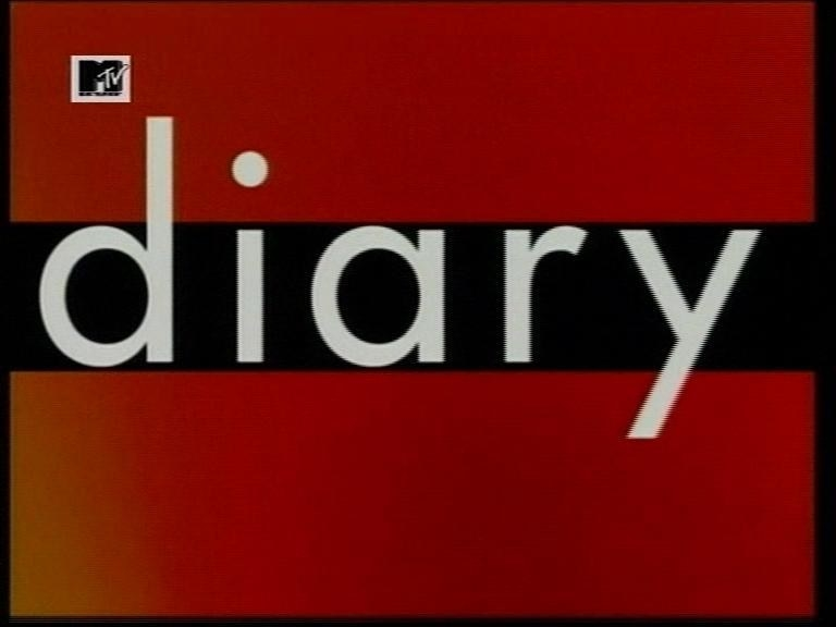 The logo for MTV Diary