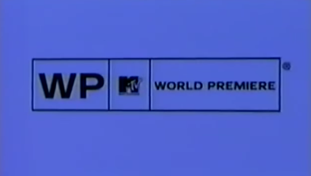 The World Premiere logo MTV used in the early 2000s