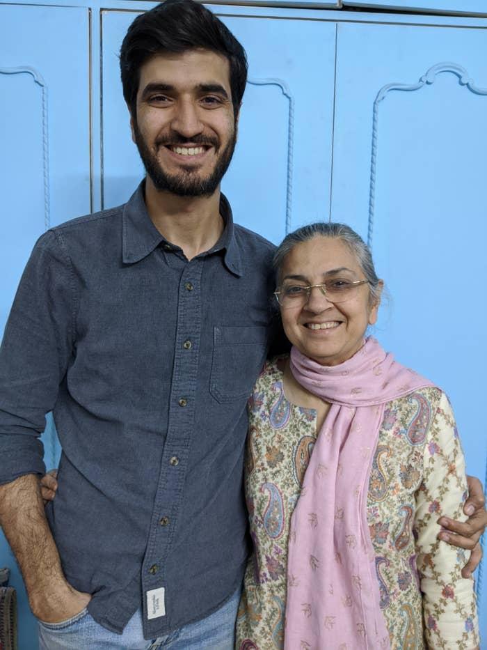 Photo of Poonam and Pranav.