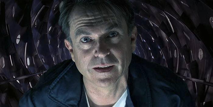 """Sam Neill in """"Event Horizon"""""""