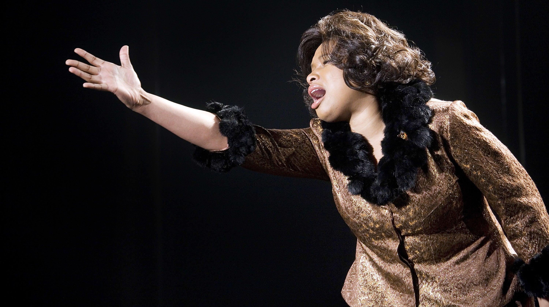 Jennifer Hudson singing in Dreamgirls