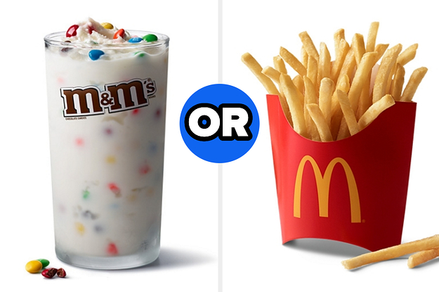 You Can Only Save One Item From These Fast Food Chains — What Will You Choose?