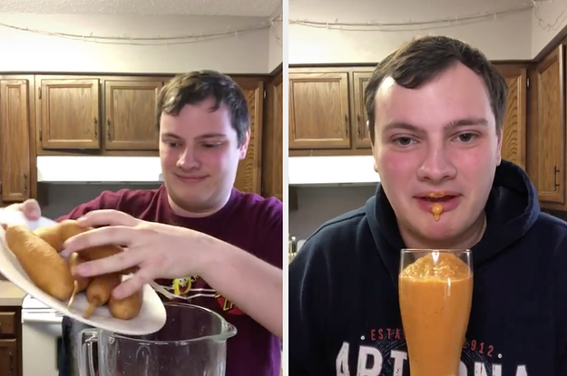 The Bizarre Milkshake Guy Has Received Death Threats Because Of His TikToks, But Hes Keeping His Head Up