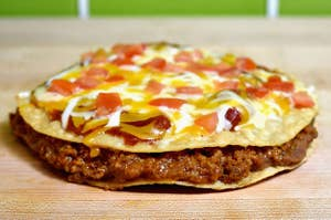 Mexican pizza from Taco Bell