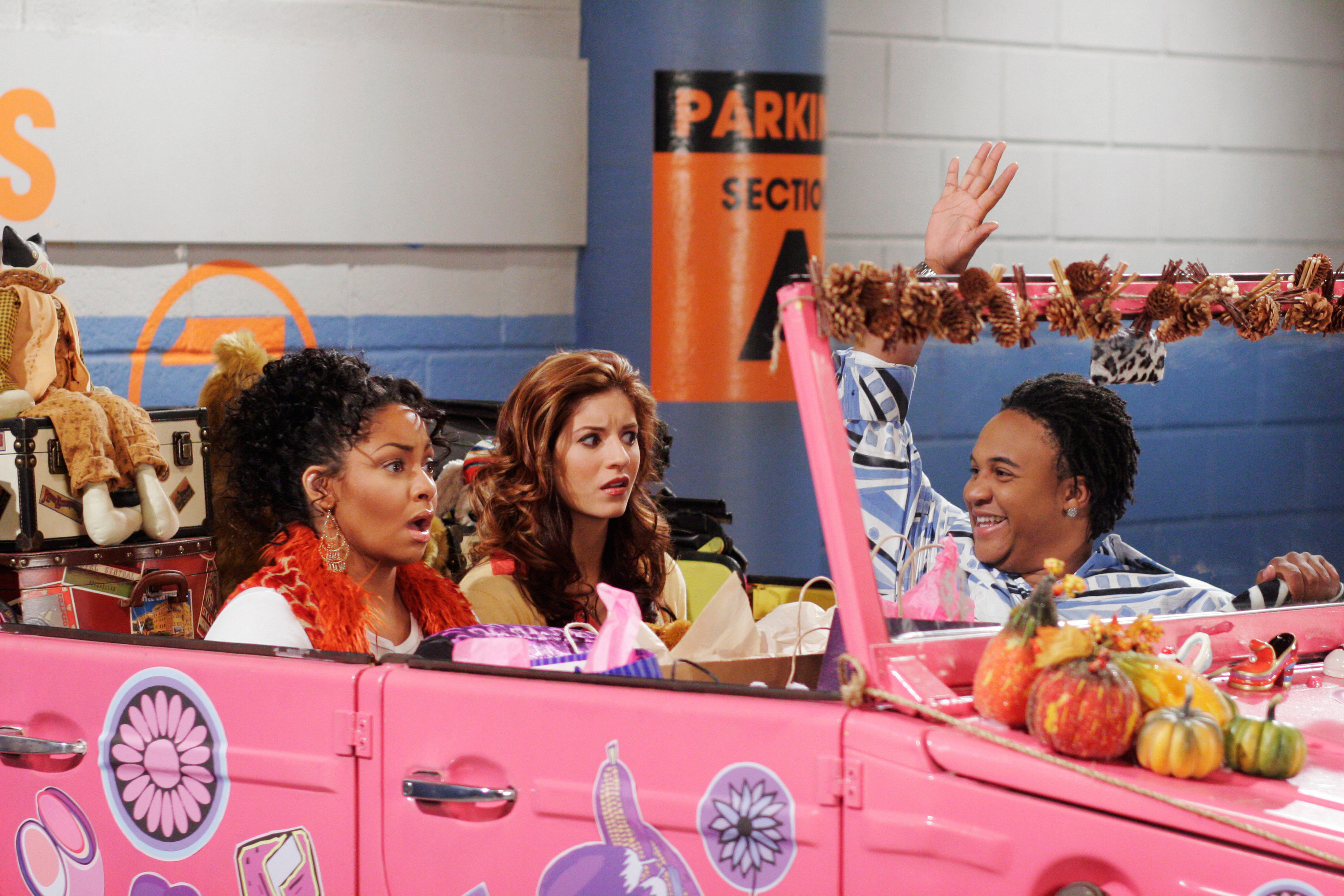 "Raven, Chelsea, and Eddie from ""That's So Raven"""