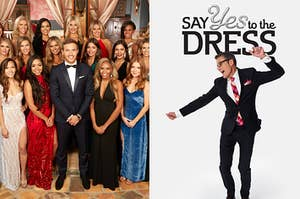 """""""The Bachelor"""" and """"Say to the Dress."""""""