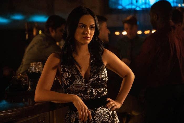 Veronica at her speakeasy