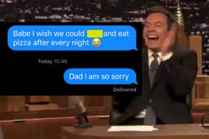 Daughter wrong texts her dad a sext