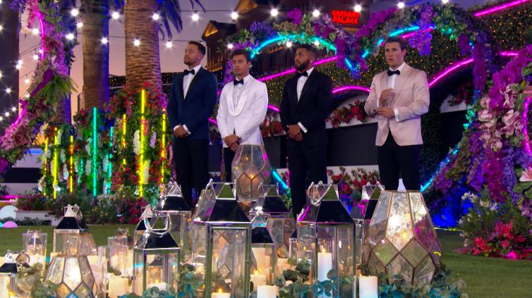 """Love Island"" USA Season 2 contestants during the finale"