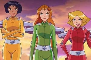 Alex, Sam, and Clover from totally spies