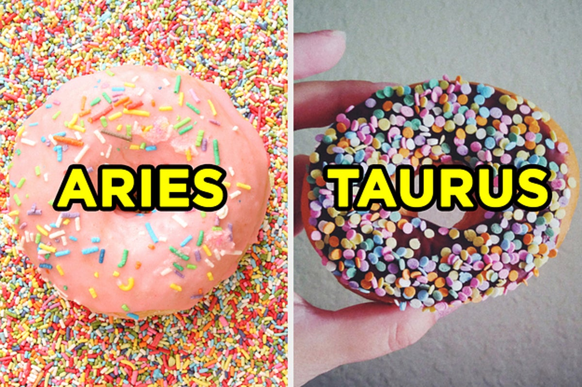 Guess Your Zodiac Sign Based On Donuts Quiz