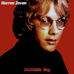 album cover of Excitable Boy showing Warren Zevon