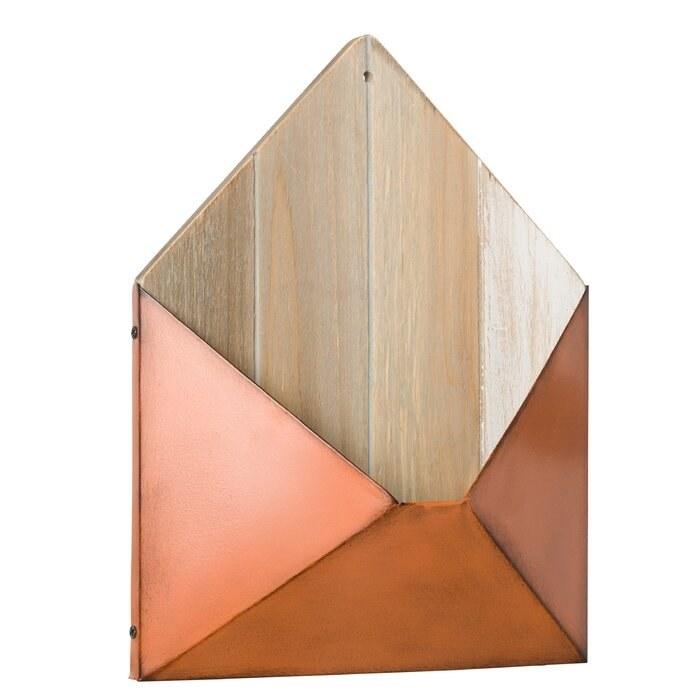 The terracotta envelope mail holder