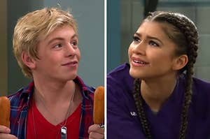 """Austin from """"Austin and Ally"""" and K.C. from """"K.C. Undercover"""""""