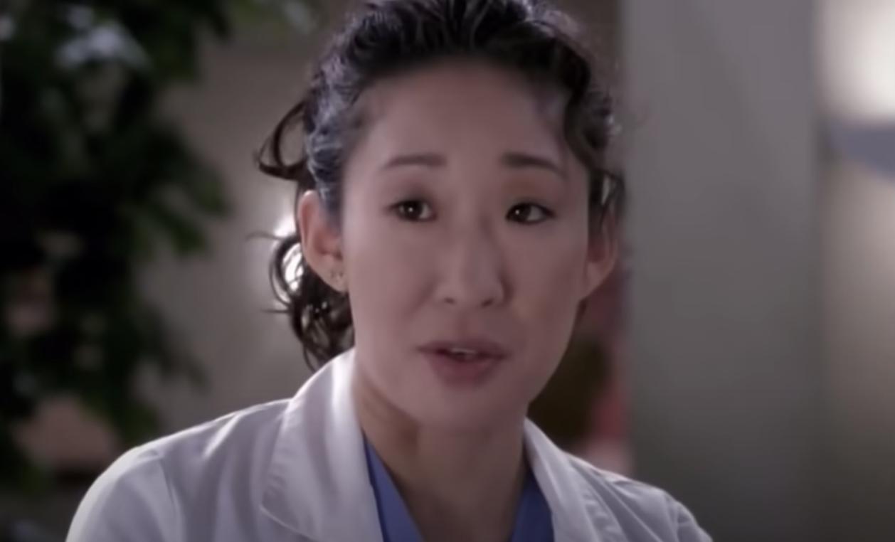 Cristina talking