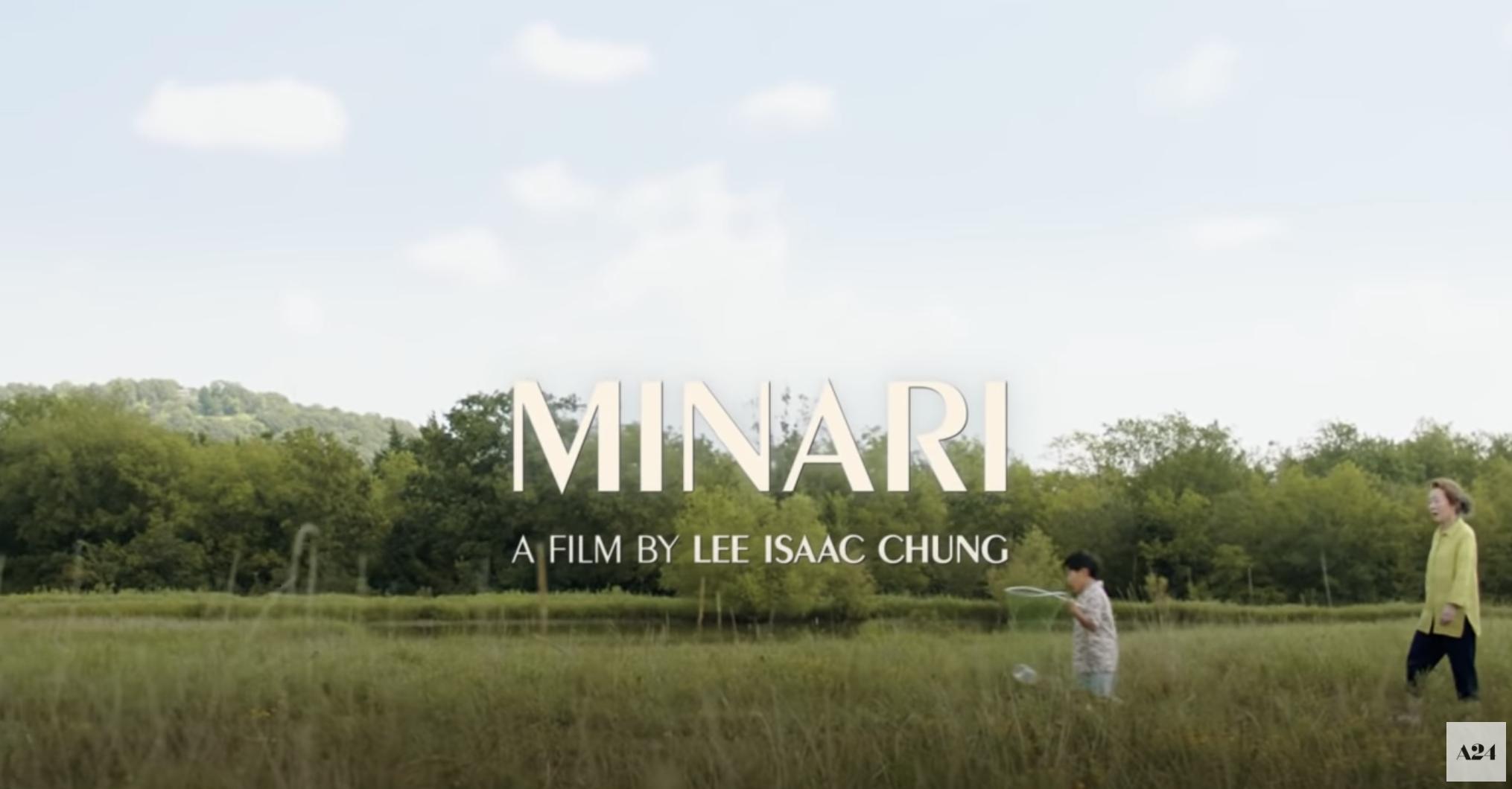 Minari title screen
