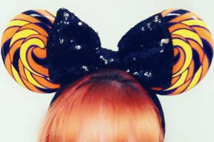 Swirl Candy Minnie Mouse Ears