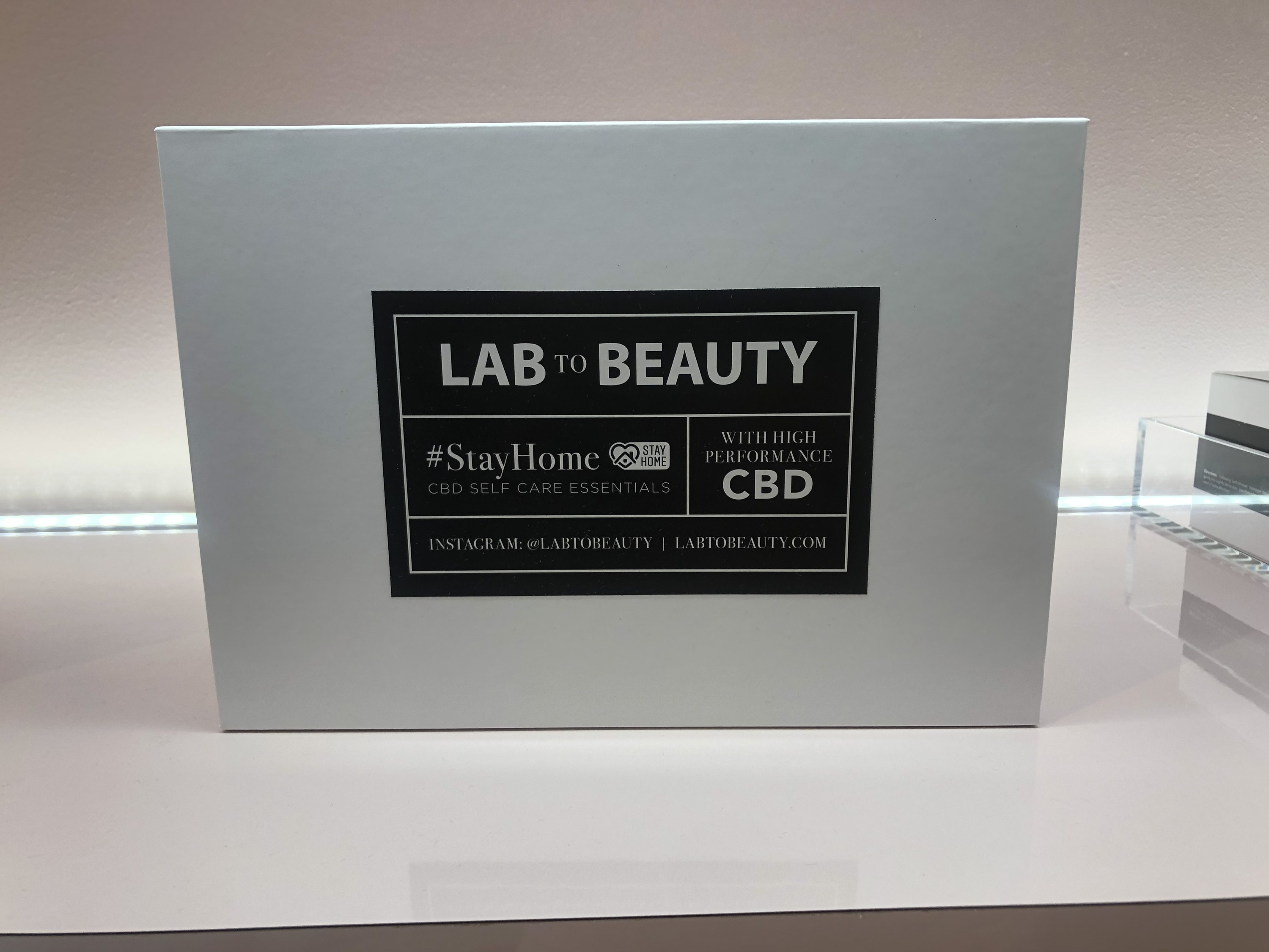 A #StayHome-themed Lab to Beauty product