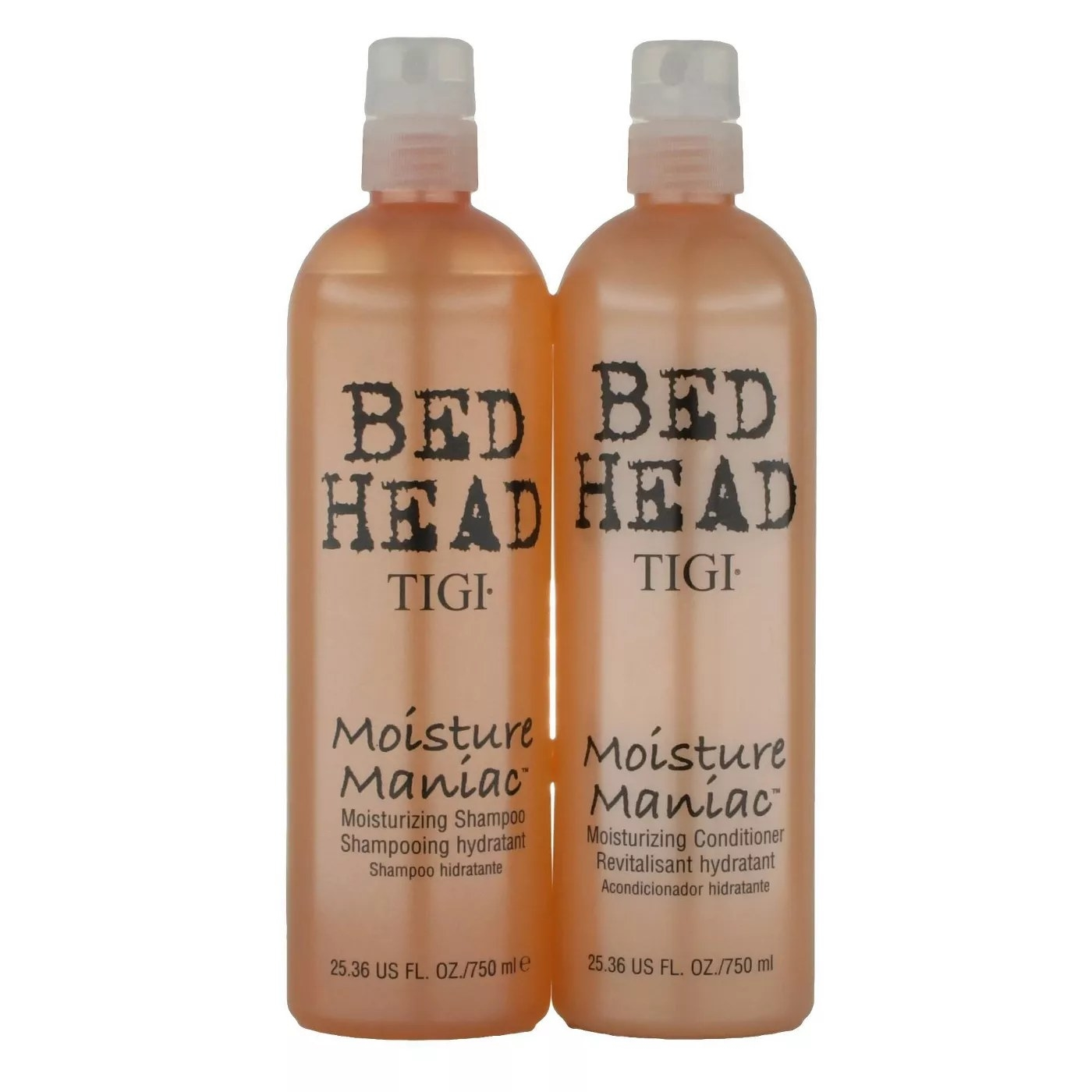 Bed Head's Moisture Maniac Shampoo and Conditioner