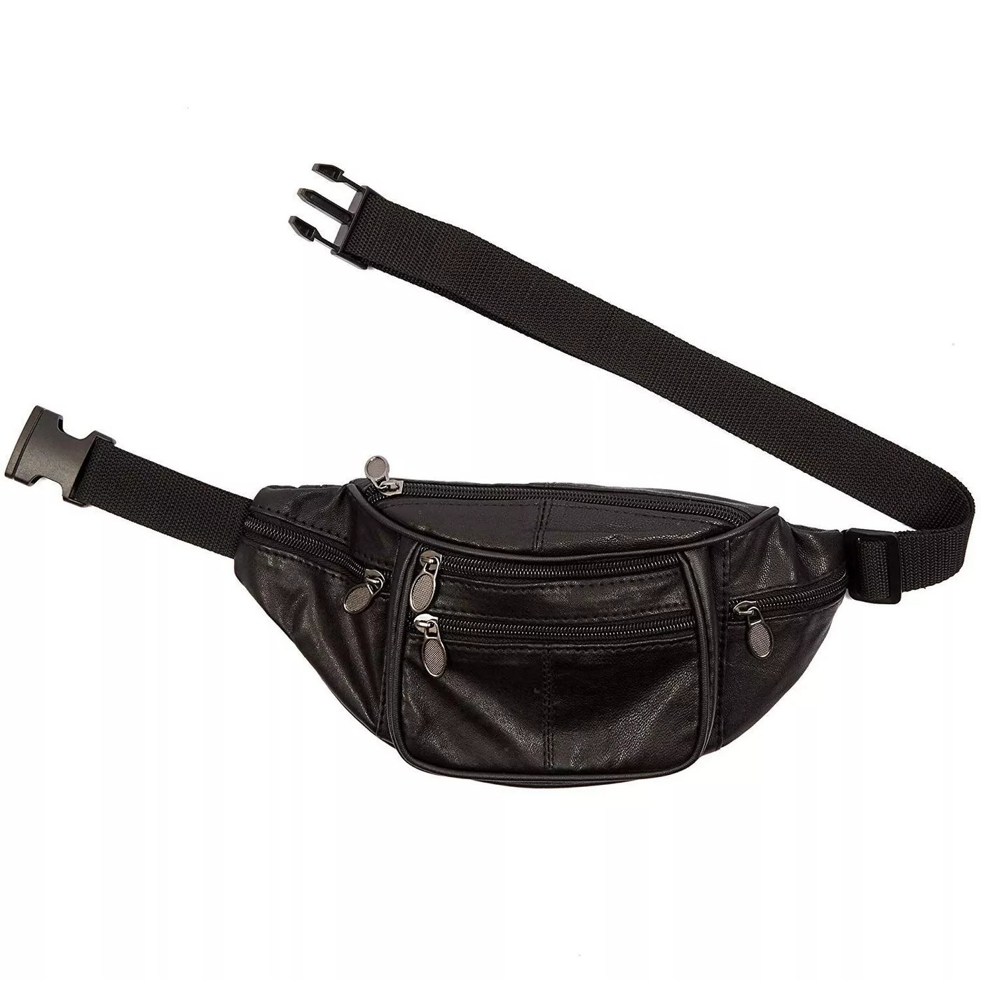 The leather fanny pack