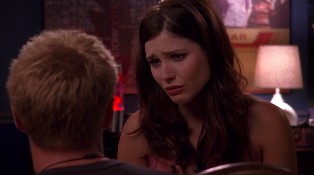 Brooke tells Lucas she can't do this anymore and that she stopped missing him