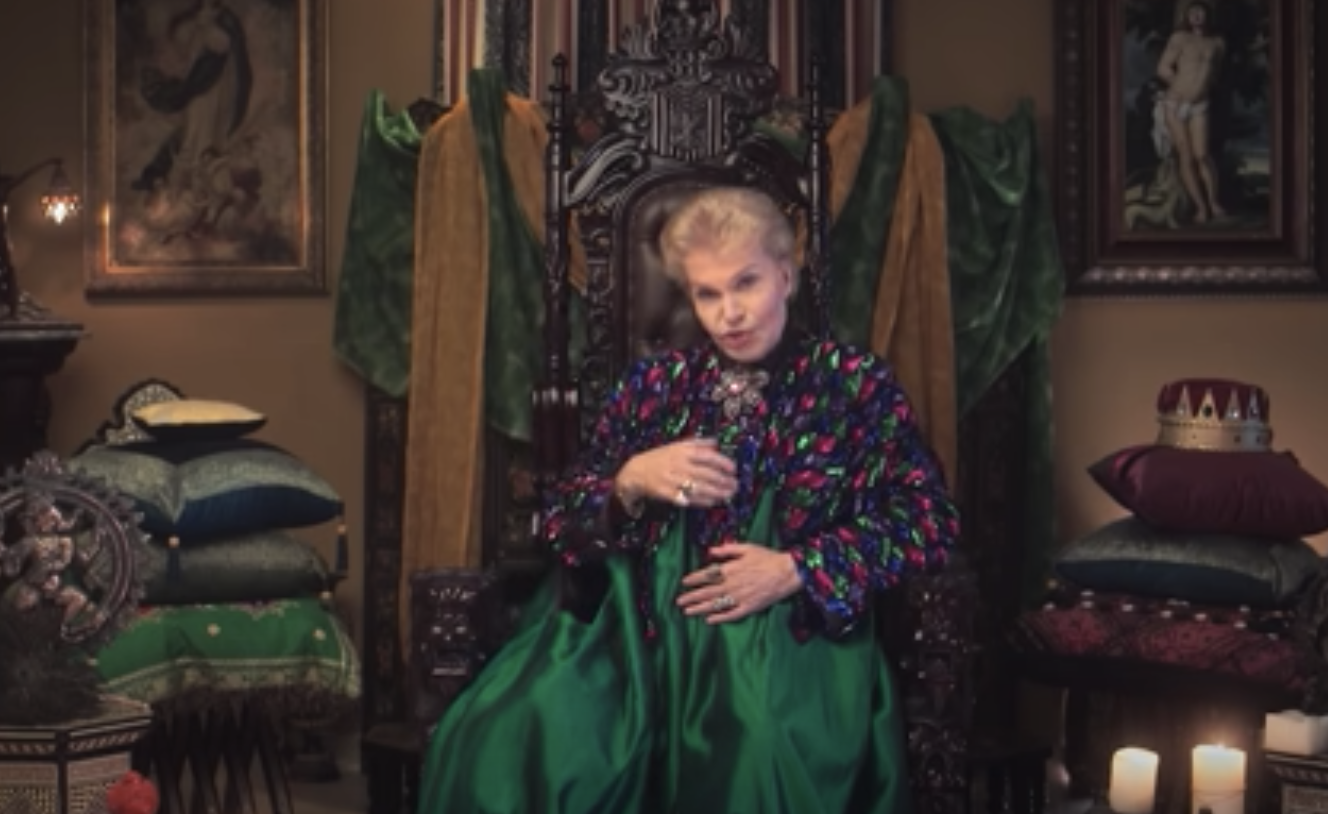 Walter Mercado doing his signature sign-off