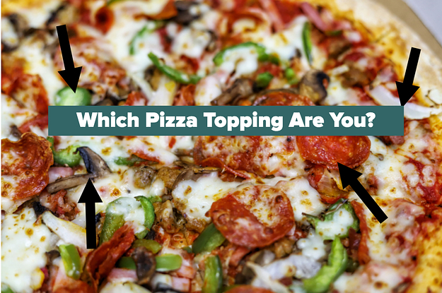 Which Pizza Topping Are You? Choose Some Images To Find Out