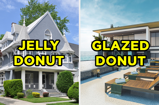 Everyone Has A Type Of Donut That Matches Their Personality — Build Your Dream Home To Reveal Yours