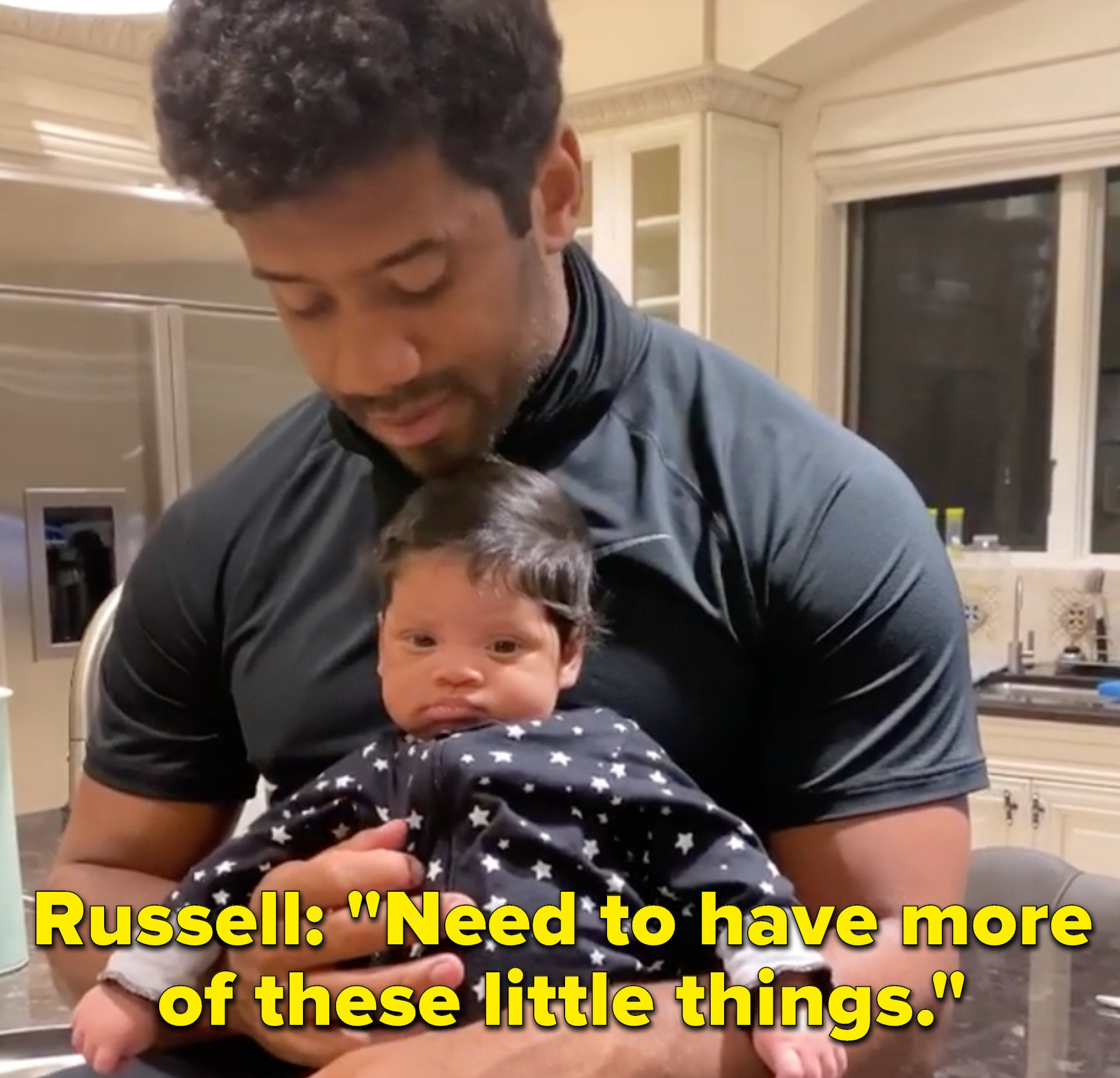"Russell says, ""Need to have more of these little things"""