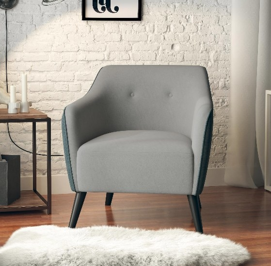 The two-tone grey chair