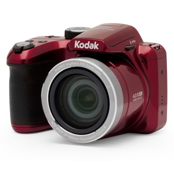 The red digital camera