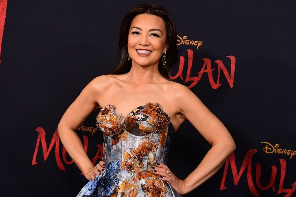 "Ming-Na Wen attends the world premiere of Disney's ""Mulan"""