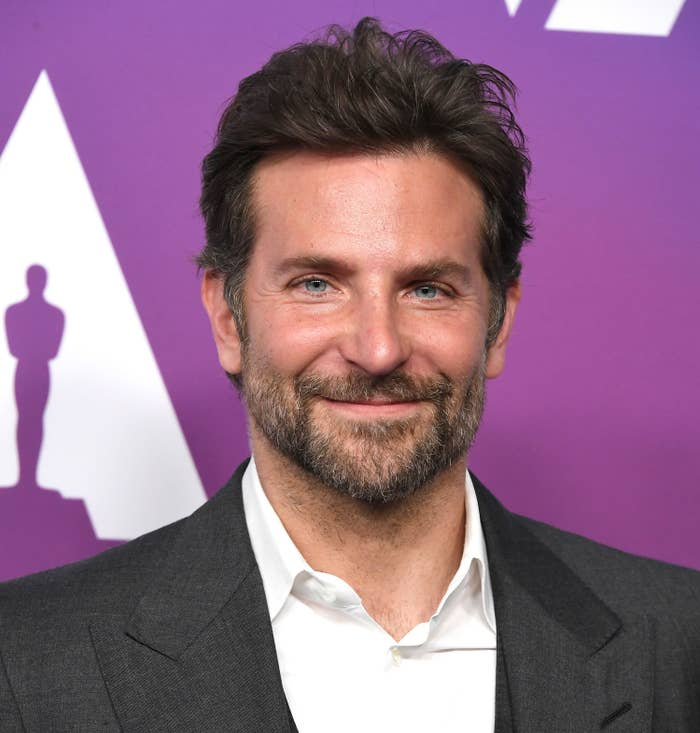 Bradley Cooper arrives at the 91st Oscars Nominees Luncheon.