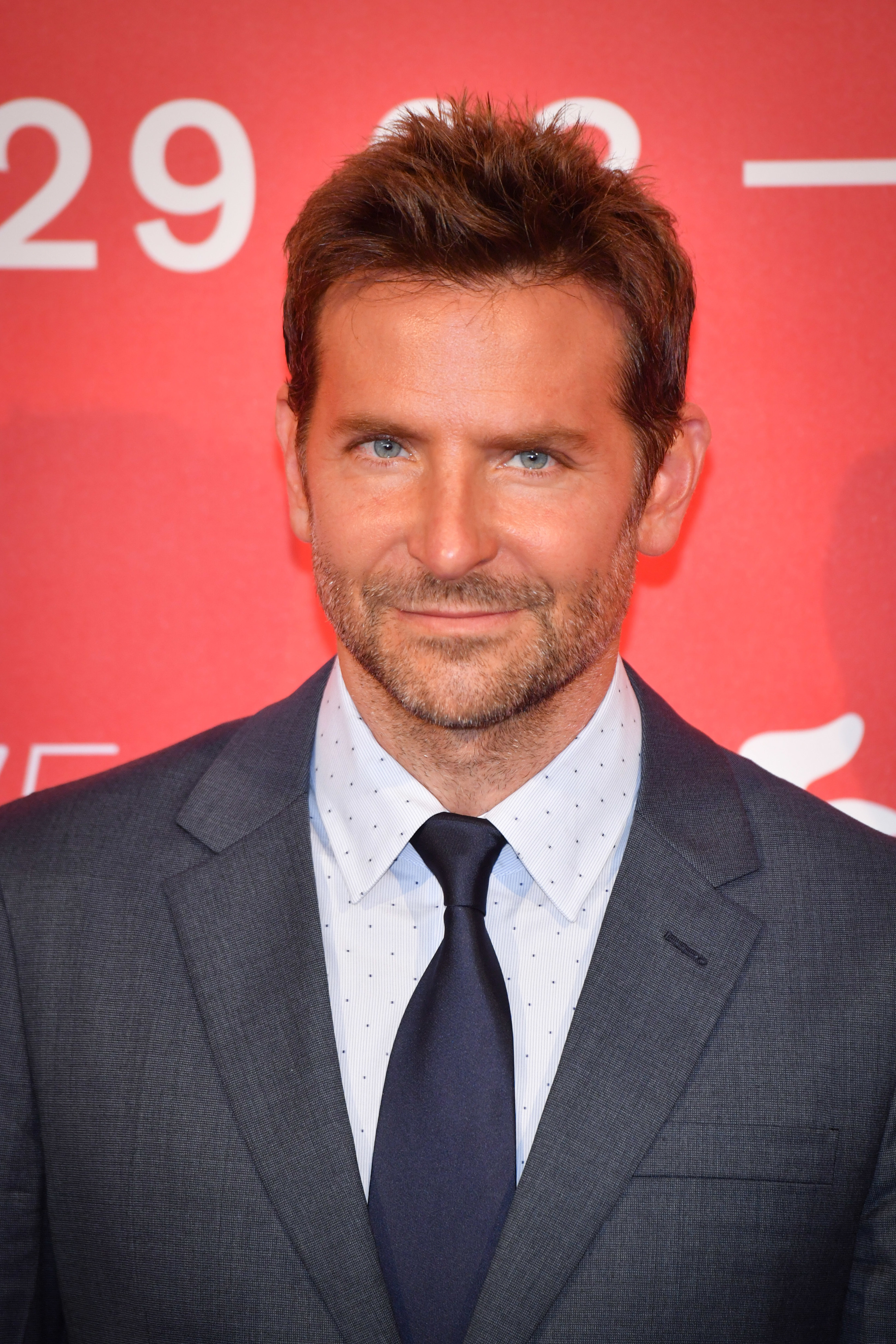 Bradley Cooper attends 'A Star Is Born' photocall during the 75th Venice Film Festival.