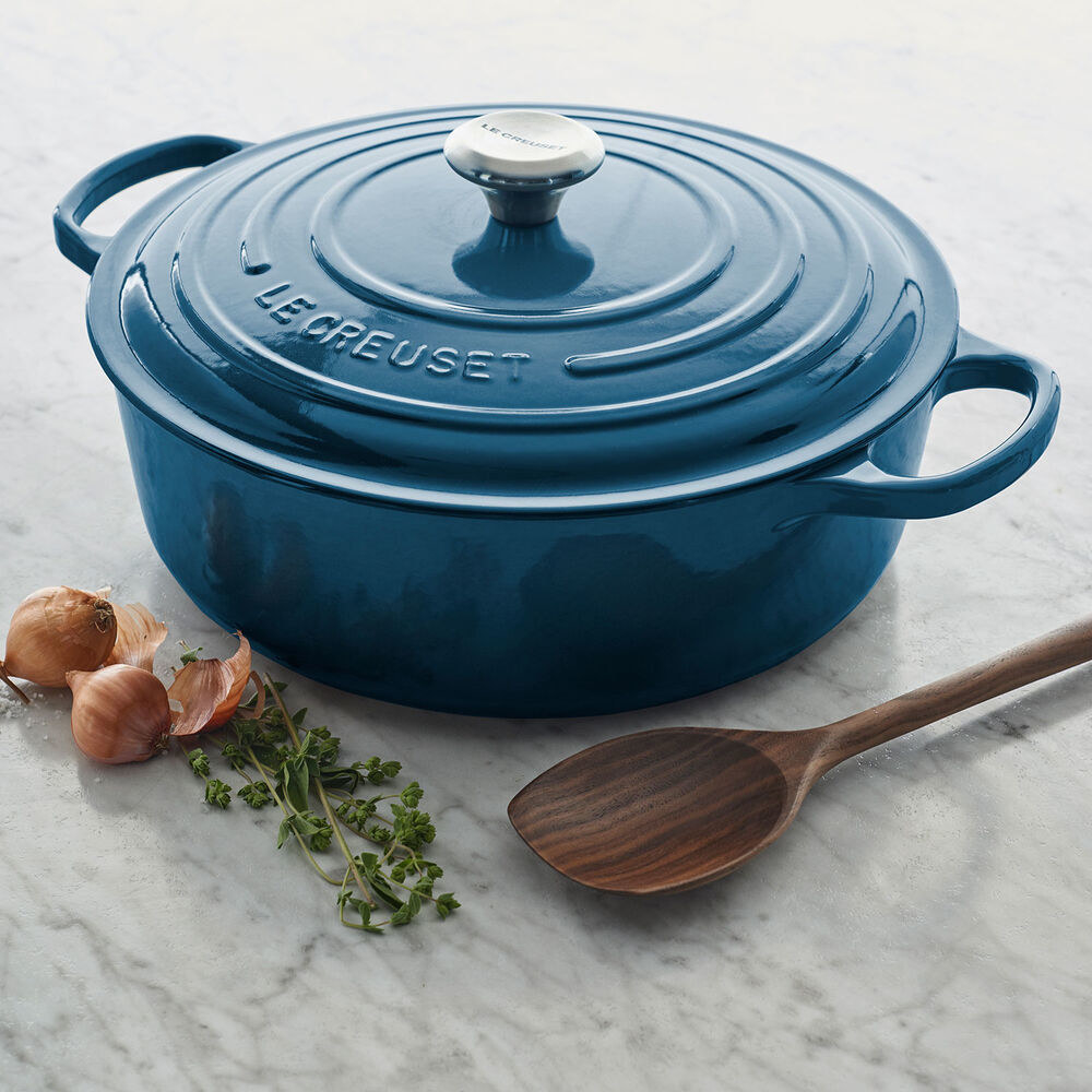 teal Dutch oven