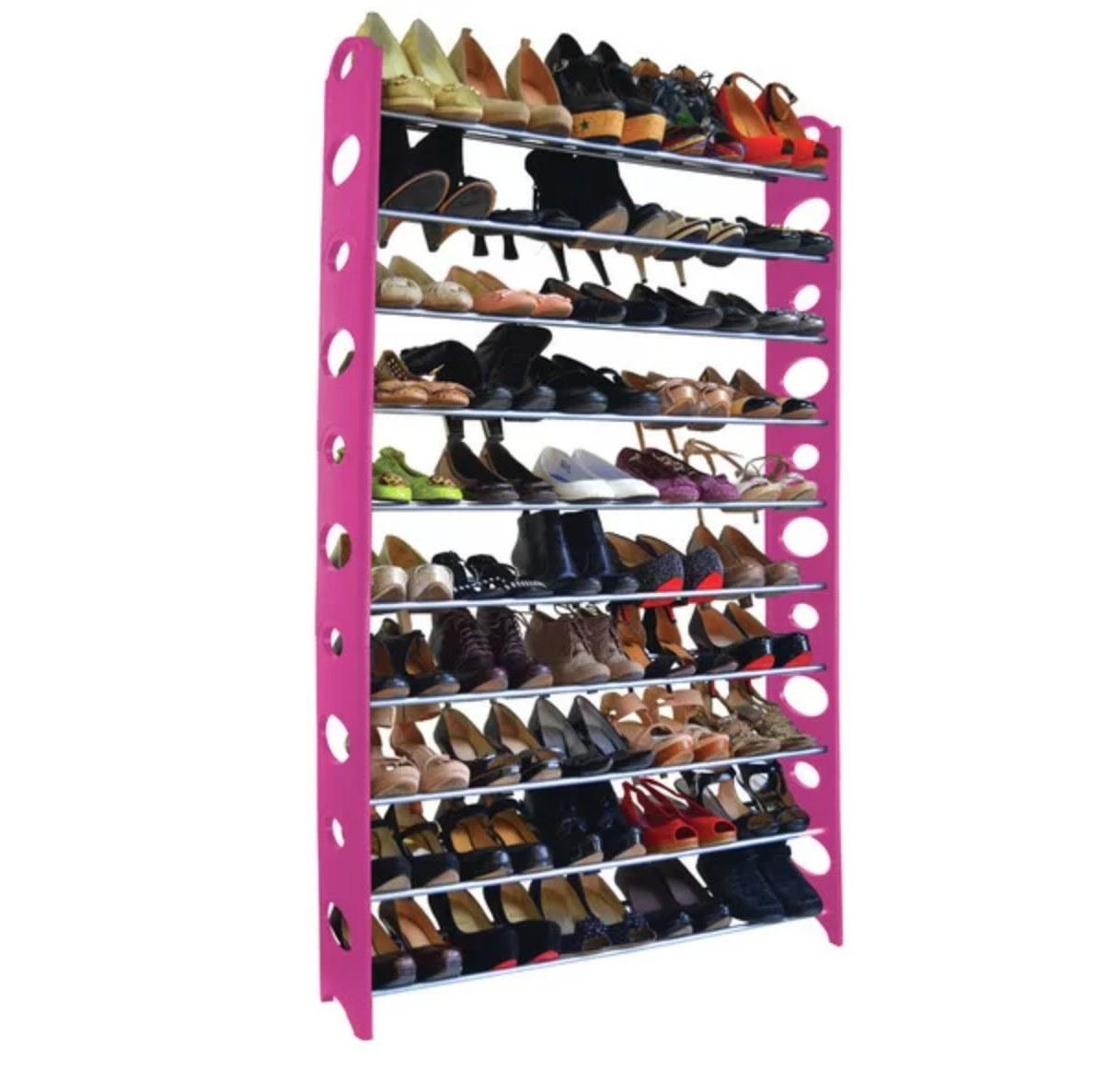 The tall shoe rack